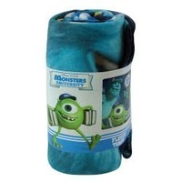 Monsters University 45x60 Fleece Throw
