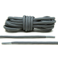 Grey 3M Reflective Rope Laces