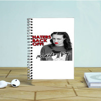 Miranda Sings Haters Back Off Photo Notebook Auroid