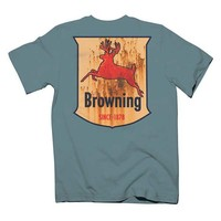 Browning Youth Oil Sign Deer Short Sleeve T-Shirt