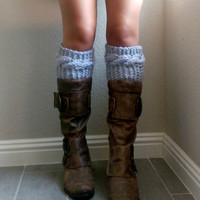Cable Knit Boot Cuffs, Wool Boot Toppers, Cable Knitted Boot Socks, Knit Wool Cuffs, Chunky Knitted Boot Cuffs, Wool Chunky Boot Cuffs
