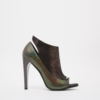 ASOS EMPIRE STATE OF MIND Peep Toe Shoe Boots