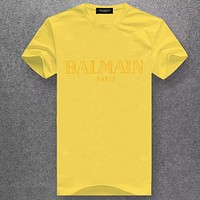Boys & Men Balmain Fashion Casual Shirt Top Tee