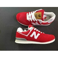 Fashionable New Balance Women/Men comfortable leisure sports shoes