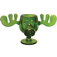 Christmas Vacation - Green Glass Moose Mug