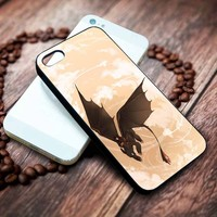 Hiccup And Toothless How To Train Your Dragon 2 Custom Iphone 4 4s 5 5s 5c 6 6plus 7 case / cases