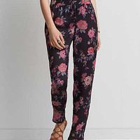 AEO Silky Track Pant, Pink