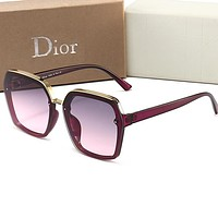 DIOR Fashionable Women Men Casual Sun Shades Eyeglasses Glasses Sunglasses