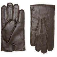 Polo Ralph Lauren - Cashmere and Thinsulate-Lined Leather Gloves