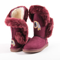 """Washington Redskins Women's Cuce Official NFL """"Champions"""" Boots"""