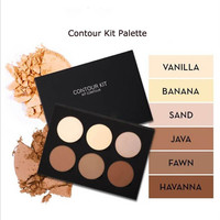 6 Colors ABH Beverly Hills Contour Cream Kit Palette Highlighter Powder Face makeup Bronzers Light to Medium Maquillage