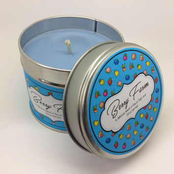 Pokémon - Berry Farm (Route 123) inspired Scented Candle