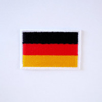 Germany Flag Patch/Iron on Patch/Applique/Embroidery
