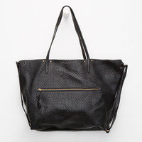 Under One Sky Perforated Tote Bag In A Bag Black One Size For Women 26316310001