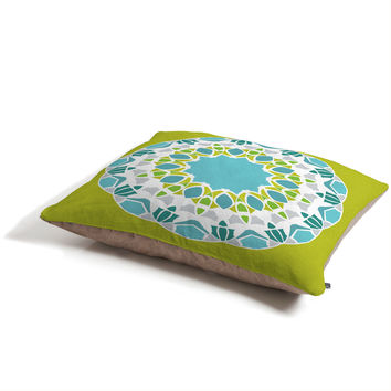 Karen Harris Mod Medallion Green Pet Bed