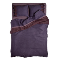 Linen duvet Queen. Tailor made by Lovely Home Idea. My Purple Provence Dream