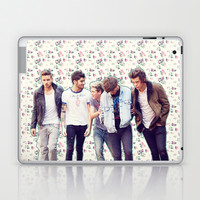 Floral 1D Laptop & iPad Skin by Valerie Hoffmann    One Direction