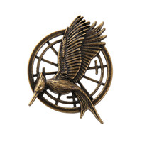 The Hunger Games: Catching Fire Mockingjay Pin | Hot Topic