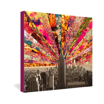Bianca Green Blooming NY Gallery Wrapped Canvas