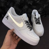 Nike Air Force 1 '07 AF1 Low LV8 WB Reflective Fashion Shoes - Best Online Sale
