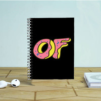 Obey Doughnut Odd Future Ofwgkta Photo Notebook Auroid