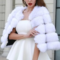Winter Dance Fur Coat