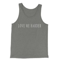 Love Me Harder  Jersey Tank Top for Men