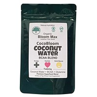 Plant-Based Vegan BCAA - Workout Recovery Supplement - Organic Coconut Water + Glutamine