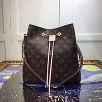 LV Louis Vuitton MONOGRAM CANVAS NEONOE HANDBAG