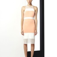 THE RESTRAINED SPLICED BODYCON