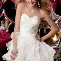 Alyce Short Dress 3545 at Prom Dress Shop