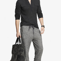 MARLED DRAWSTRING FLEECE JOGGER PANT from EXPRESS