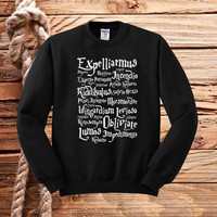 harry potter spell sweater unisex adults