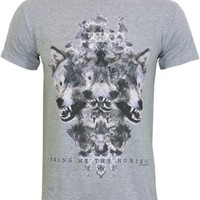 Bring Me The Horizon Wolven Men's Grey T-Shirt - Offical Band Merch - Buy Online at Grindstore.com