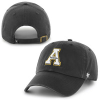 Appalachian State Mountaineers '47 Brand Clean Up Adjustable Hat - Black