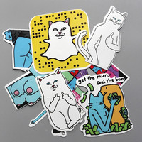 RIPNDIP 8 Piece Sticker Set