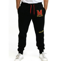 Maryland Terps NCAA Mens Jogger Pant (Black) (XX-Large)