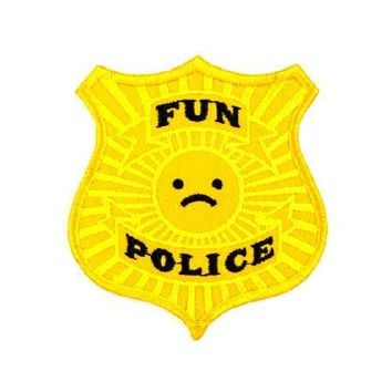 Fun Police Badge Patch