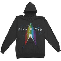Pink Floyd Men's  Pyramid Power Hooded Sweatshirt Black Rockabilia