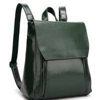 The Perfect Retro Backpack   Green