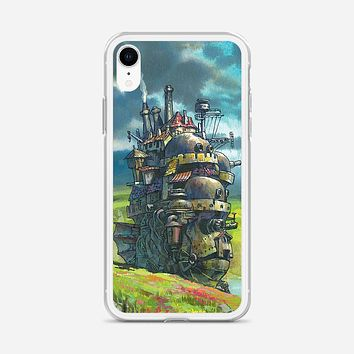 Howls Moving Castle Artwork iPhone XR Case