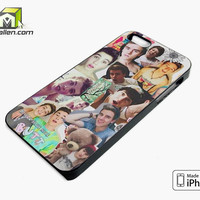 Our Second Life Collage iPhone 5s Case Cover by Avallen