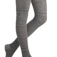 Steps in the Right Direction Tights | Mod Retro Vintage Tights | ModCloth.com