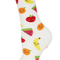 Cream Fruity Ankle Socks - New In This Week - New In - Topshop USA