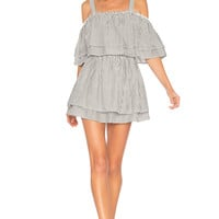Tularosa x REVOLVE Bay Dress in Black Stripe | REVOLVE