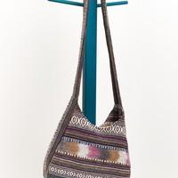 Jacquard Hobo Purse