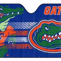 NCAA Florida Gators Deluxe Universal Fit Auto Windshield Sun Shade