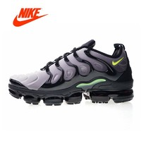 Original New Arrival Authentic Nike Air Vapormax Plus TM Men's Comfortable Running Shoes Sport Outdoor Sneakers 924453-009