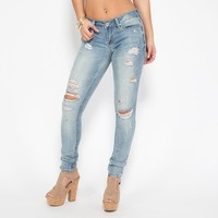 Huron Distressed Skinny Denim Pants