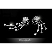 Lina Flower Hair Twist Pin | Rhinestone